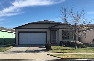 Reno Single Family Home For Sale: 8330 Halladale Drive
