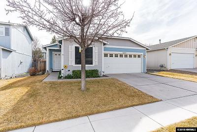 Reno Single Family Home Active/Pending-Loan: 7480 Deveron Dr