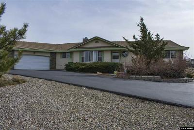 Carson City Single Family Home For Sale: 3111 Conte Dr