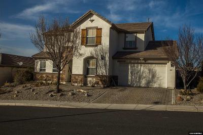 Reno Single Family Home Active/Pending-Loan: 895 Sienna Park Dr