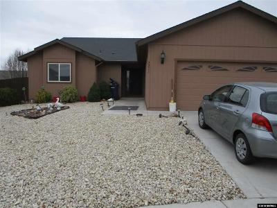 Fernley Single Family Home For Sale: 2211 Ellice Way