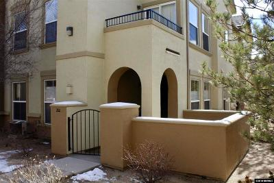 Reno Condo/Townhouse For Sale: 17000 Wedge Pkwy #212