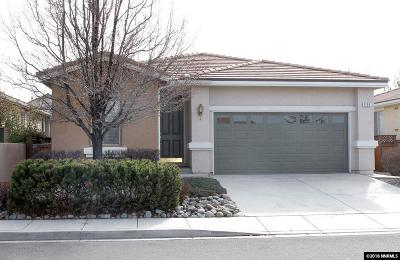 Washoe County Single Family Home Active/Pending-Loan: 2155 Calabria Drive