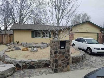 Sparks Single Family Home Active/Pending-Loan: 3152 Lida Lane