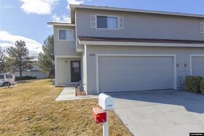 Carson City Condo/Townhouse Active/Pending-Call: 4269 Shelbyville Drive