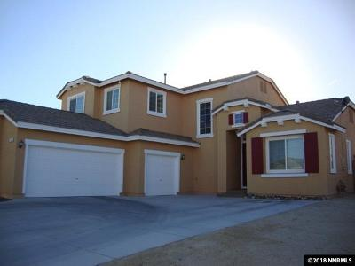 Fernley Single Family Home Active/Pending-Loan: 1426 Walker River Way