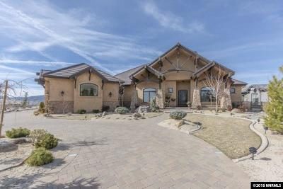 Reno Single Family Home For Sale: 2185 Back Nine Ct