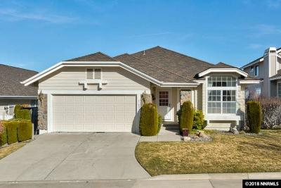 Reno Single Family Home For Sale: 6180 Squires Lane