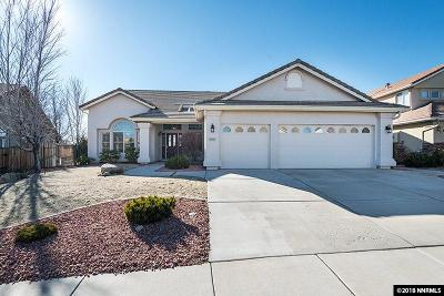 Washoe County Single Family Home Active/Pending-Loan: 2245 Emerald View Court