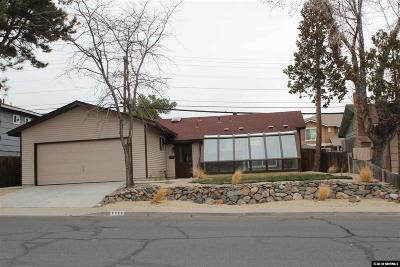 Reno Single Family Home Back On Market: 2795 Scholl Dr