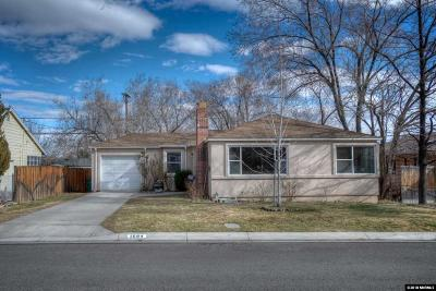 Reno Single Family Home For Sale: 1694 Watt
