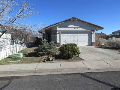 Reno Single Family Home New: 6895 Forsythia