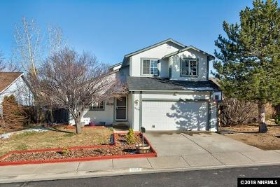 Reno Single Family Home Price Reduced: 8654 Piper Place