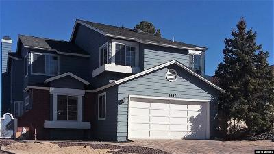 Reno Single Family Home For Sale: 3332 Skyline View