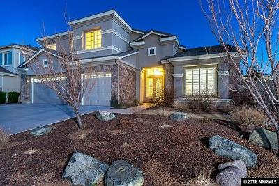 Reno Single Family Home Active/Pending-Loan: 1696 Silverthread