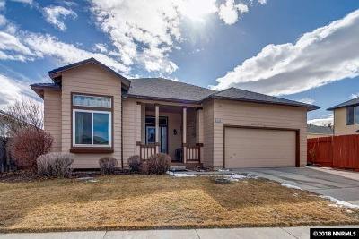 Washoe County Single Family Home New: 1416 Amston Road
