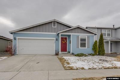 Reno Single Family Home New: 7430 Hinton Dr