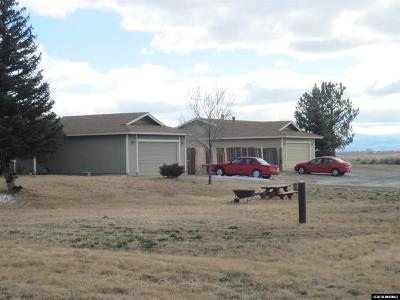 Minden Single Family Home For Sale: 3161 N Hwy 395