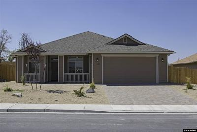 Fernley Single Family Home For Sale: 1280 Rainbow
