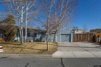 Reno Single Family Home Active/Pending-Loan: 11540 Rocky Mountain Street