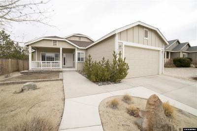 Washoe County Single Family Home New: 757 Pinion Wood Drive