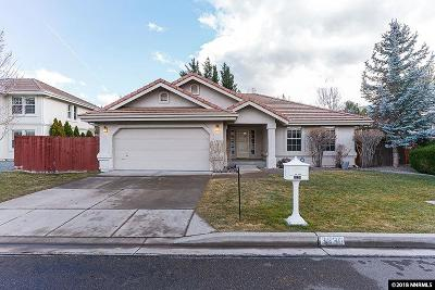 Washoe County Single Family Home New: 3830 N Westpoint