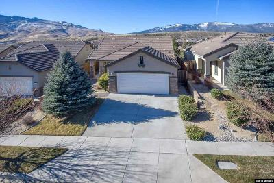 Reno Single Family Home New: 1345 Cliff Park Court