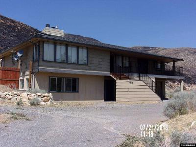 Reno Single Family Home Active/Pending-Loan: 9575 Red Rock Road