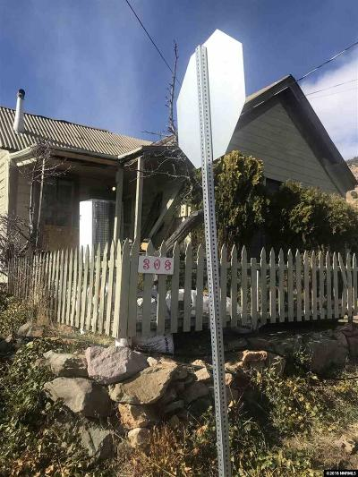 Virginia City Single Family Home For Sale: 308 N A Street