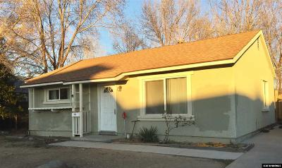 Washoe County Single Family Home New: 1328 1st St