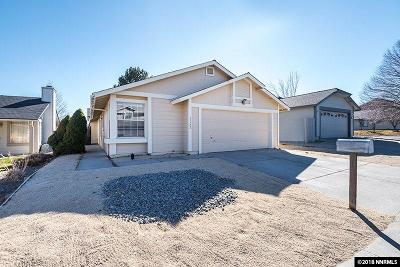 Reno Single Family Home New: 1192 Blue Lakes Road
