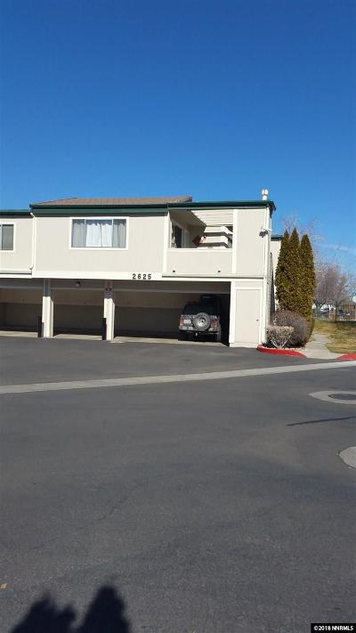 Washoe County Condo/Townhouse New: 2625 Sunny Slope Dr. #1