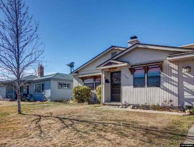 Reno Single Family Home Back On Market: 1595 Radcliffe Drive