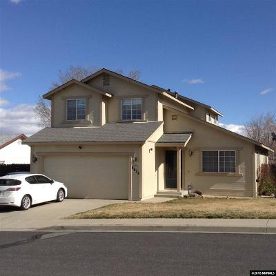 Reno Single Family Home Active/Pending-Loan: 8624 Piper Place
