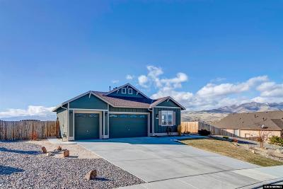 Washoe County Single Family Home New: 591 Beckwourth