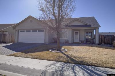 Gardnerville Single Family Home Active/Pending-Loan: 1369 Brooke Way