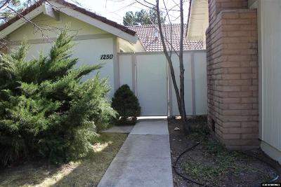 Washoe County Condo/Townhouse New: 1250 Conway