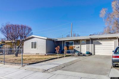 Washoe County Single Family Home New: 924 Russell Way