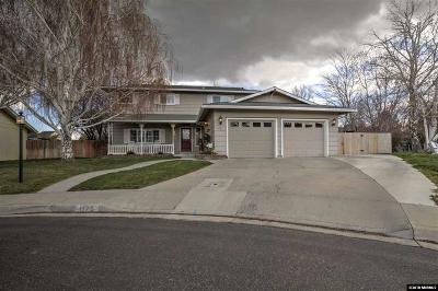 Gardnerville Single Family Home Active/Pending-House: 1175 Meadow Court