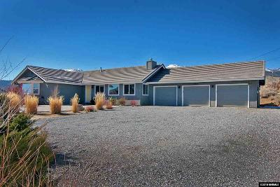 Washoe County Single Family Home New: 15245 Callahan