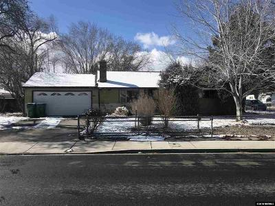 Washoe County Single Family Home New: 1607 Probasco