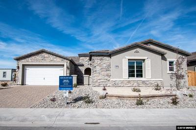Reno Single Family Home For Sale: 2413 Sparstone Drive #Lot #8