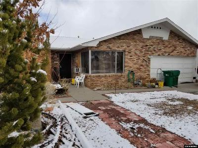 Reno Single Family Home For Sale: 285 Hillcrest