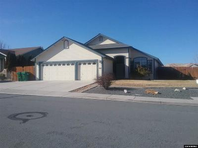 Washoe County Single Family Home New: 4727 El Cap