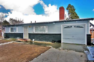 Sparks Single Family Home Active/Pending-Loan: 1604 11th