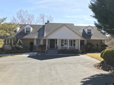 Washoe County Single Family Home New: 3600 Frost Lane