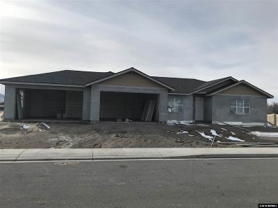 Fernley Single Family Home Active/Pending-Loan: 950 Brigit Circle