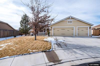 Washoe County Single Family Home New: 2295 Gorget Court