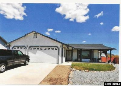 Washoe County Single Family Home New: 1645 Cumulus Ct.
