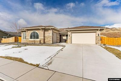 Washoe County Single Family Home New: 7529 Orange Plains Drive